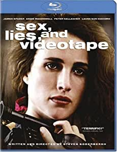 Sex Lies & Videotape [Blu-ray]