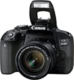 Best Selling Canon EOS 800D 24.2MP Digital SLR Camera + EF-S 18-55mm IS STM Lens + 16GB Memory Card be sure to Order Now