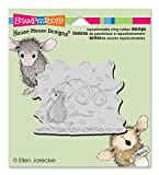 Unbekannt Stampendous Stampendous House Maus selbst Stempel 3,5 x 4-Zoll-Konfetti Fun, Acryl, mehrfarbig