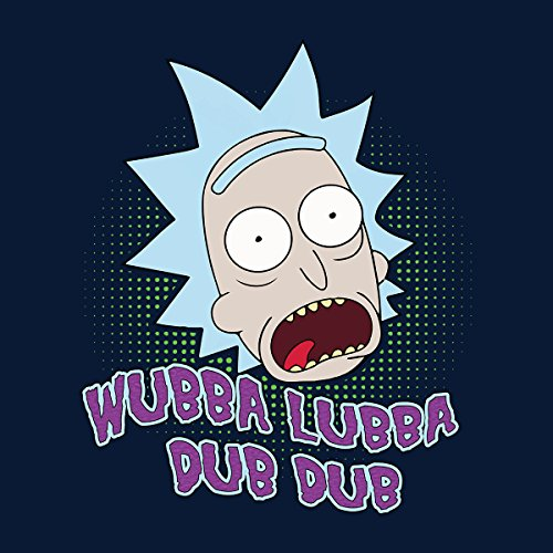 Rick And Morty Wubba Lubba Dub Dub Women's Vest Navy blue