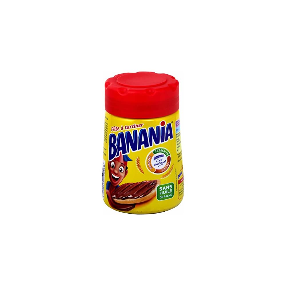 Pte Tartiner Banania Cacao Crales Bananes Bananen Schoko Creme 400 G