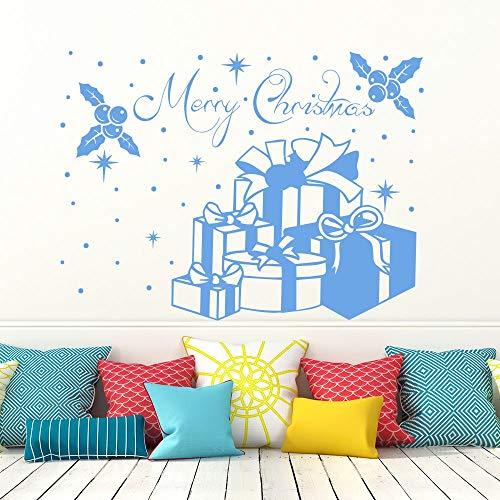 Xinyouzhihi Nuevo diseño Feliz Navidad Regalo Pegatinas