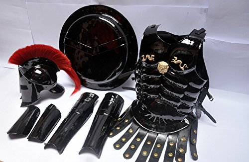 mdival-romain-king-leonidas-spartan-300movie-casque-w-rouge-plume-muscle-pour-homme-shield-jambe-bra
