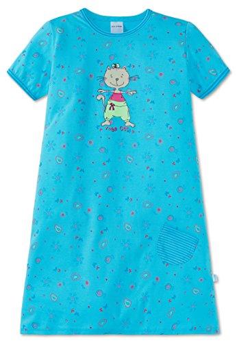 Schiesser Nachthemd Türkis Größe 116 -