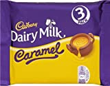 Cadbury Dairy Milk Chocolate Caramel Bar, 111g (Pack of 3)