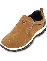 Hannea Round Toe Slip-on Suede Flat Heel Outdoor Men Sneakers