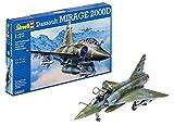 Revell - 04893 - Maquette D'aviation - Dassault Mirage 2000 D - 72 Pièces...