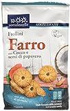 Sottolestelle Frollini di Farro con Cocco e Semi di Papavero - 8 confezioni da 300gr - Totale  2.4 kg