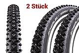 2 Stück 29' Zoll Schwalbe SMART SAM Fahrrad Reifen 57-622 Mantel Decke 29 x 2.25 schwarz