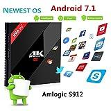 3GB RAM 32GB ROM Android 7.1 OS H96 Pro Plus TV Box Amlogic...