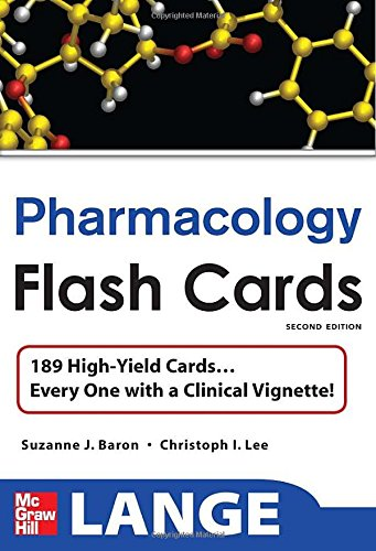 Flash cards pdf pharmacology