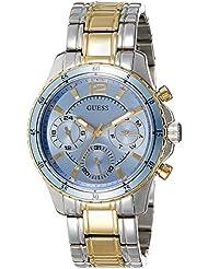 Guess Damen-Armbanduhr Chronograph Quarz Edelstahl W0639L1