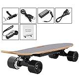 AIMADO Elektrisches Skateboard 10-20 km/h Transport elektrisches Longboard mit drahtloser Handfernbedienung für Kinder, Jugendliche und Erwachsene