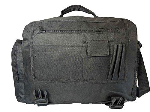 Nero Spedizione Messenger Borsa a tracolla college school Croce Corpo o borsa a tracolla RL39K, Black (nero) - RL39 BAG Black