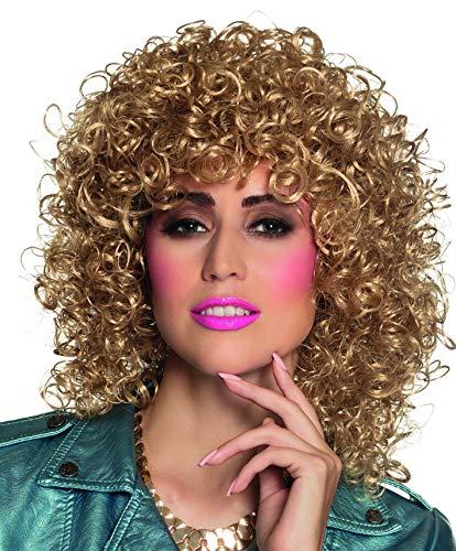 Achtziger Jahre Einfach Kostüm - Boland 86242 Erwachsenenperücke Club, blond, One Size