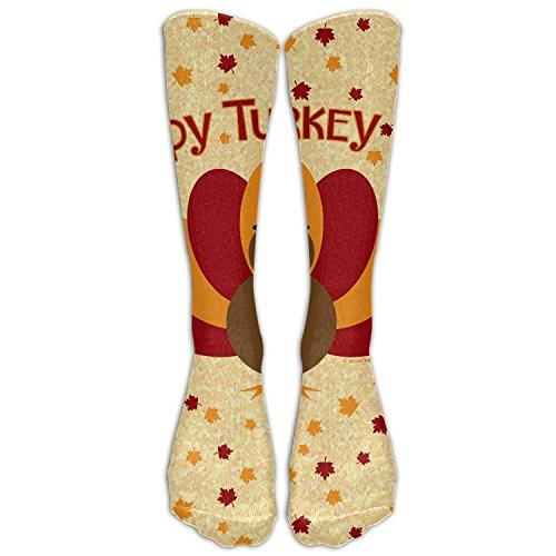 hat-bag Crew Socks Thanksgiving Turkey Mens Womens Knee High Tube Dresses Liner Cosplay Stockings