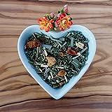 Almuerzo de Natural Corazón-Equilibrio Ender bio Cistus té de Mix con citronela fresca, simpáticos manzana Parcela y sanfter Bourbon Vainilla 100g