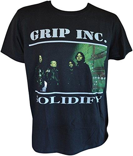 Dave Lombardo's Grip Inc. Solidify T-Shirt Schwarz