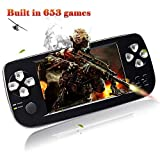 XinXu Game Console Handheld 4.3 Inch Games Retro Consoles Portable Video Games Player