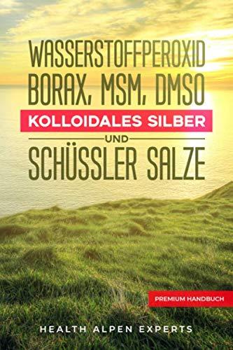 Wasserstoffperoxid Borax MSM DMSO Kolloidales Silber und Schüssler Salze: Anwendung Wirkung Erfahrungsberichte und Studien - Premium Handbuch (Kochen Spanisch)