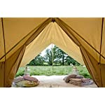 360 x 240cm AWNING 100% Cotton Canvas Suitable for 3m 4m 5m 6m Bell Tent Available in Sand or Grey 7
