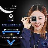 Cewaal WiFi Projecteur, 1080P Mini LED Portable Home 25 Lumens Micro Vidéo Projecteur Support de Carte TF