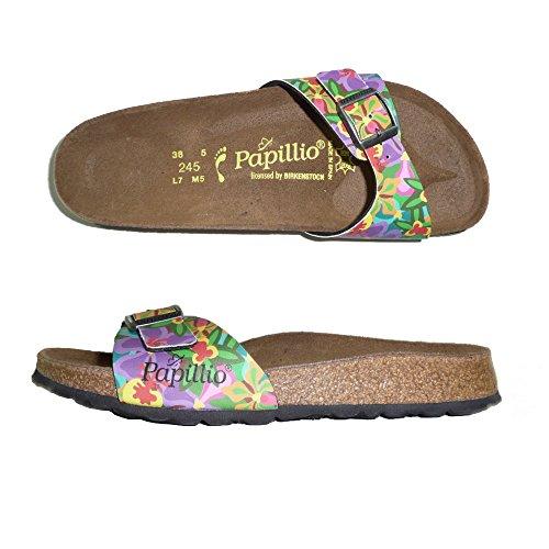 PAPILLIO BIRKENSTOCK MADRID CIABATTE DONNA sandali zoccoli NARROW (39, ORCHID MULTI)