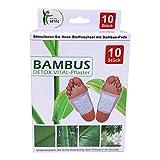 Top Ten Vital Bambus Detox Fuß-Pad zur Entgiftung 50 Stück