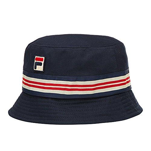Fila Vintage Casper Bucket Hat In Peacoat UKs Neueste Mode Fila Mütze