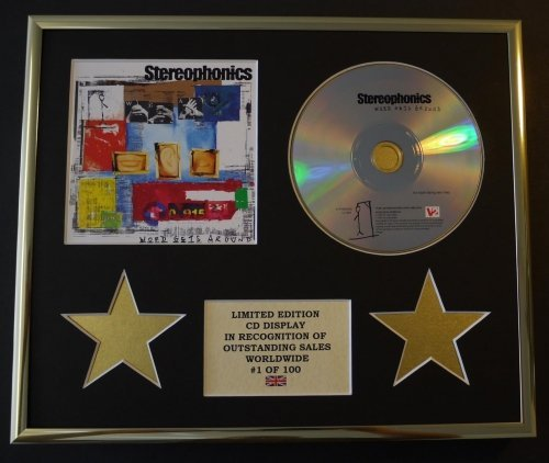 STEREOPHONICS/CADRE CD/EDITION LIMITEE/CERTIFICAT D'AUTHENTICITE/WORD GETS AROUND