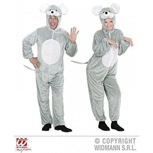 Lively Moments Geniales graues Mauskostüm / Mäuseoverall Gr. XL (H - Graue Maus Kostüm Für Erwachsene