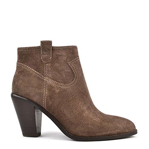 Damen Chestnut Ash Schuhe Wildleder Aus Ivana Boots 0TAqTwx