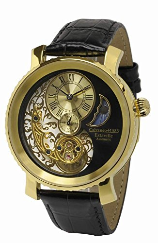 Calvaneo Estaville Gold Automatic Complication