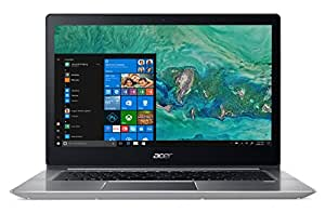 "Acer Notebook Swift 3 SF314-52-552X, Processore Intel Core i5-8250U, RAM 8GB DDR4, 256GB Intel PCIe SSD, Windows 10 Home, Display 14"" FHD IPS LCD, Argento, layout: italiano"