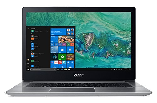 Acer Notebook Swift 3 SF314-52-87SW, Processore Intel Core i7-8550U, RAM 8GB DDR4, 256GB Intel PCIe SSD, Windows 10 Home-14 FHD IPS LCD, Silver