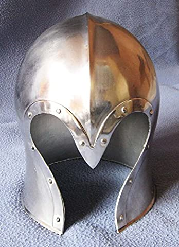 Shiv Shakti Enterprises Medieval Armour Barbute Barbuta Wearable Helmet Armor Halloween Costume