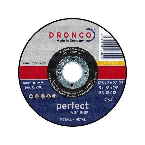 Osborn Dronco 2350220100besonders, wie 36T chop-saw Trennscheibe, Edelstahl, 350mm Durchmesser x 3,0mm Stärke x 25,4mm Loch Durchmesser, 4400U/min (10Stück)
