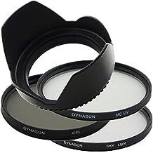 Filtro Multicoated Ultra Violetto DynaSun 58 mm + Polarizzatore Circolare 58mm + Skylight + Paraluce