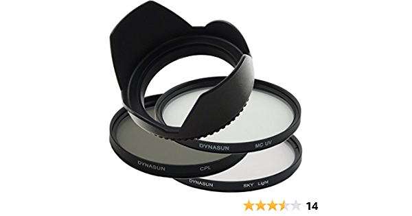 Dynasun C Pl Cpl 58mm Pol Filter Mcuv Filter Kamera