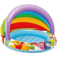 Intex57424 Piscine gonflable pour bébé Winnie the Pooh 102x 69cm