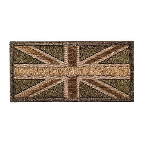 Mokita Britische britische Flaggen-Applikation, Stickerei, zum Aufbügeln, Basteln, Nähen, Stricken, Kostüm, Jeans, Jacke, UK_02