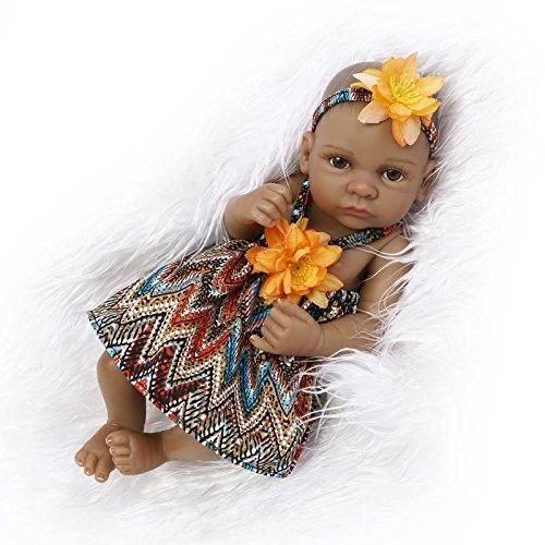 Leaysoo 10-Zoll-schwarzes Baby blinkt Mädchen orange Rock,Girl (Halloween-nägel Und Schwarze Orange)