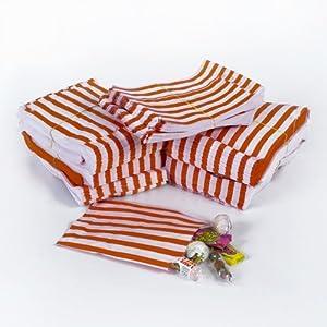 empresa diseño: The Paper Bag Company La Empresa de Bolsa de Papel Bolsas de 5(12,7x 17,8cm),...