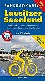 Fahrradkarte Lausitzer Seenland: Mit Bad Muskau, Forst, Hoyerswerda, Senftenberg, Spremberg, Weißwasser.Mit UTM-Gitter für GPS. Maßstab 1:75.000. ... Wasser- und reißfest. (Fahrradkarten)