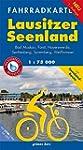 Fahrradkarte Lausitzer Seenland: Mit...