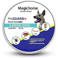 MagicHome Collar Antiparasitario para Perros contra Pulgas, Garrapatas y Mosquitos para Perros Adultos