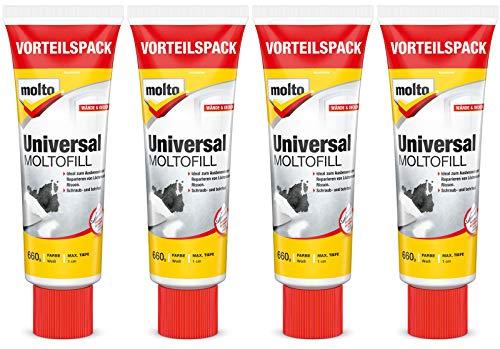 Molto Universal Moltofill Fertigspachtel für den Innen- und Außenbereich 4x 660g