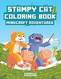 Stampy Cat Coloring Book: Minecraft Adventures