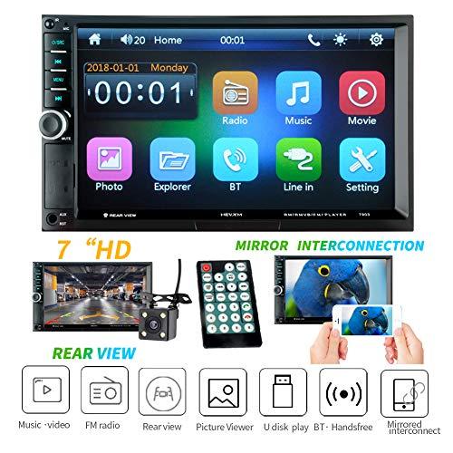 EisEyen Doppelter 7-Zoll Bluetooth Auto MP5 Player Freisprecheinrichtung Dual Barren MP3 Karte Maschine Handy Verbindung