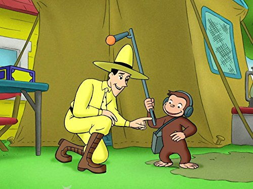 Image of Curious George and the Invisible Sound/Curious George Peeling Monkey